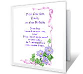 How Much You Mean to Me Birthday Printable Cards