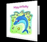 Make a Big Splash! Birthday Printable Cards