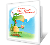 Old Enough Yet? Birthday Printable Cards