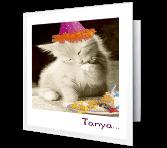 Paw-lickin' Good Birthday Printable Cards