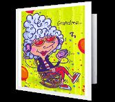 Relax and Enjoy, Grandma Birthday Printable Cards
