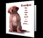Special Grandpa Birthday Printable Cards