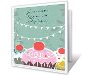 Sweet Surprises Birthday Printable Cards