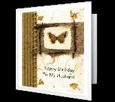 To My Husband Birthday Printable Cards