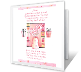 You're a Part of Me Birthday Printable Cards