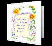 You're Loved, Grandma Birthday Printable Cards