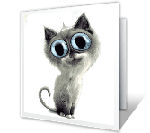 You're Purr-fect Birthday Printable Cards