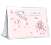 Shower of Wishes Bridal Shower Printable Cards