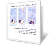 A Special Grandkid Christmas Printable Cards
