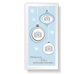 A Wish for Peace 4 x 8 Photo Card Christmas Printable Cards