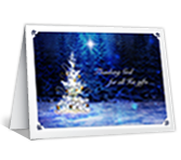 Christmas Blessings Christmas Printable Cards