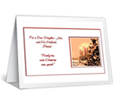 Family Ties Christmas Printable Cards