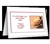 Family Ties Christmas Printable Cards