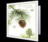 For a Wonderful Son Christmas Printable Cards