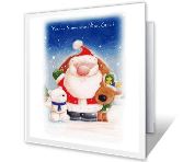 For Someone Nice Christmas Printable Cards