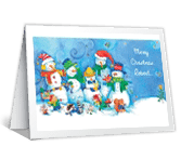 From the Cool People Christmas Printable Cards