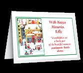 Gift of Grandchildren Christmas Printable Cards