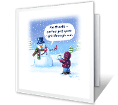 Good to the Last Drop Christmas Printable Cards
