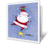 Happy Season Christmas Printable Cards