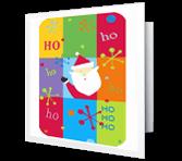 Ho Ho Ho Christmas Printable Cards