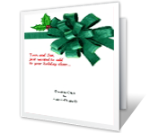 Holiday Cheer Add-a-Photo Christmas Printable Cards