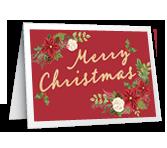 Holiday Happiness Christmas Printable Cards