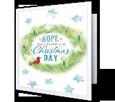 Hope was Born Christmas Printable Cards