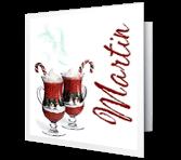 I Treasure Your Friendship Christmas Printable Cards