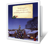 Magical Moments Christmas Printable Cards