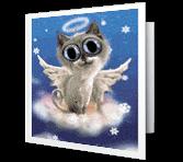 Purr-fect Christmas Christmas Printable Cards