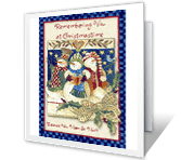 Remembering You Christmas Printable Cards
