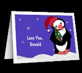 Special Grandson Christmas Printable Cards