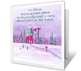 Special Niece Christmas Printable Cards