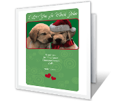 The Greatest Present of All Christmas Printable Cards