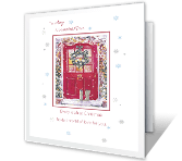 To a Beautiful Niece Christmas Printable Cards
