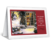 To a Dear Sister and Brother-in-law Christmas Printable Cards