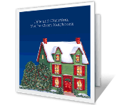 To Great Neighbors Christmas Printable Cards