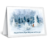 Town & Country Christmas Printable Cards