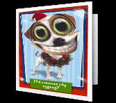 Where's the Eggnog? Christmas Printable Cards