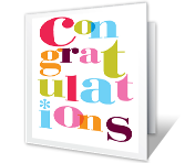 Well Done Congratulations Printable Cards