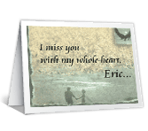 Miss You Dating & Love Printable Cards