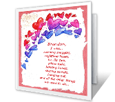 What I Miss About Us Dating & Love Printable Cards