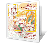 A Prayer for Mom and Dad Easter Printable Cards
