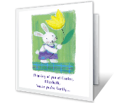 'Cause You're Family Easter Printable Cards