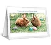 Good Friends Like You Easter Printable Cards
