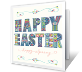Happy Everything! Easter Printable Cards
