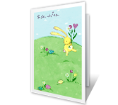 Hugs and Kisses Easter Printable Cards