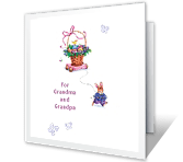 Hugs for Each of You Easter Printable Cards