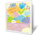 With Love at Easter Easter Printable Cards
