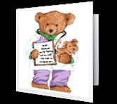 Big Bear Hug Encouragement Printable Cards
